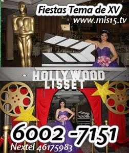 Fiestas Tema de Hollywood