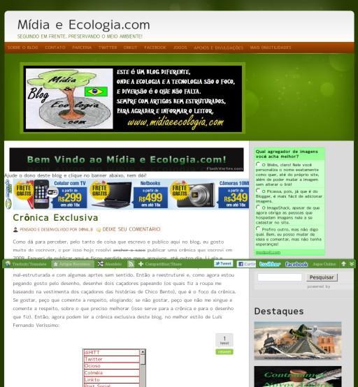 Midia e Ecologia