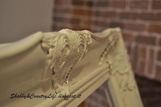 Cornice & Rete di conigliera - shabby&countryLife.blogspot.it