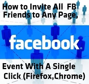 how to follow all friends in fb in one click