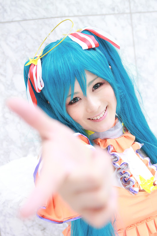 CosRain.Com Sui's COSPLAY - Miku Hatsune
