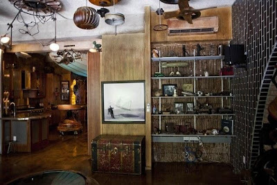Steampunk-Style Apartment in Manhattan Seen On www.coolpicturegallery.us