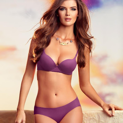 Natasha Barnard hot sexy body for Leonisa bikini collection