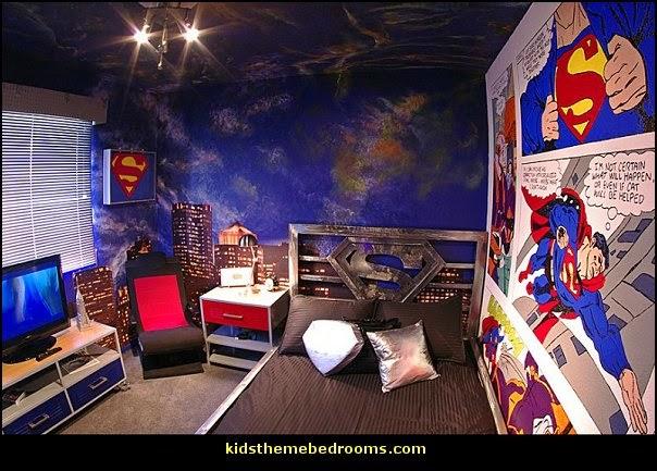 superman bedroom decorating ideas superman decor superman wall