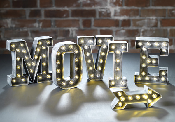 Craft warehouse blog for Movie marquee letters