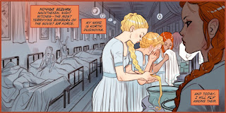 Panel two of page 4 from DC Comics Bombshells #3