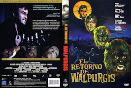 El retorno de Walpurgis (1973) - Carátula