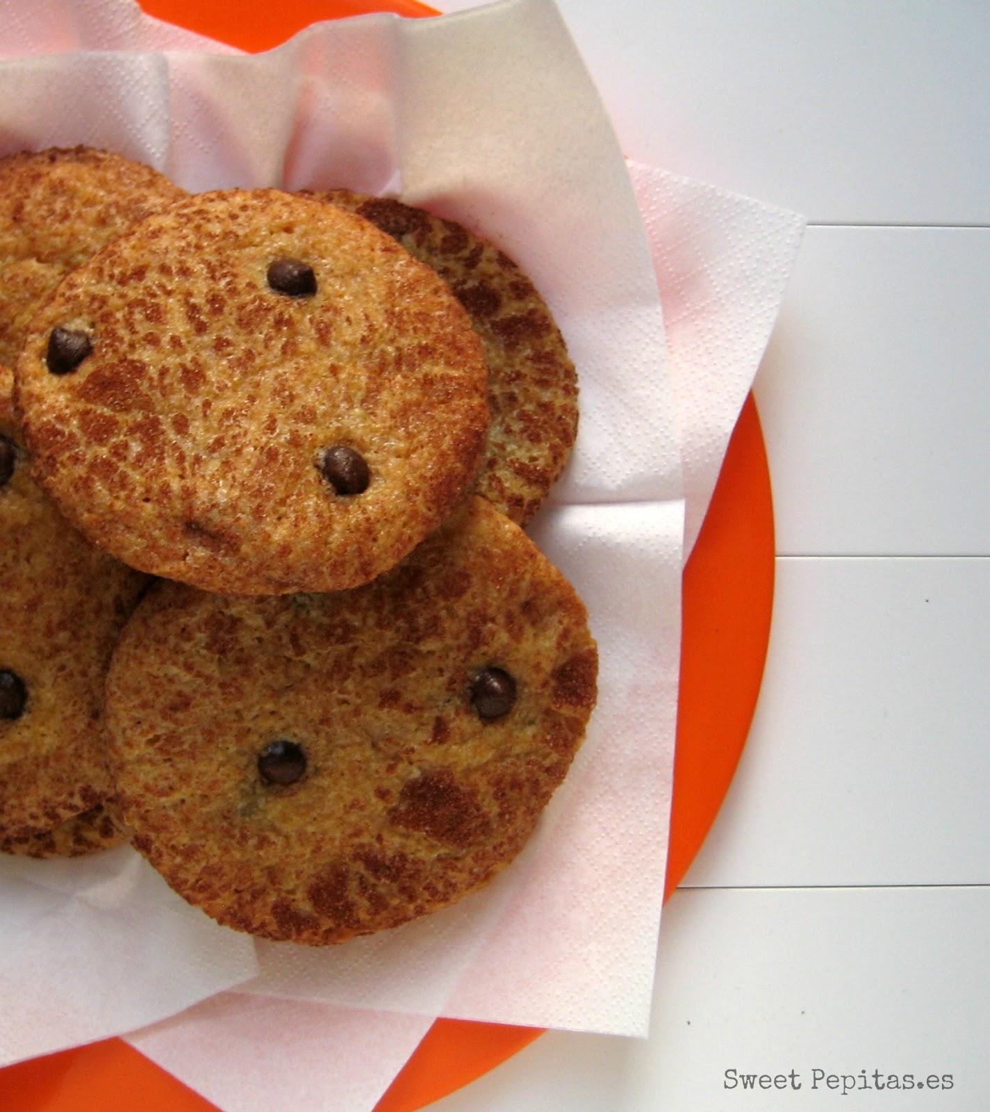 Receta cookies calabaza