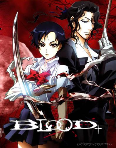 Download Blood+1,2,3,4 ª Temporada Completa AVI Dublado