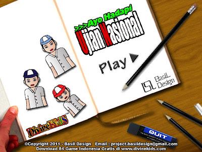 Free Download Games Menghadapi Ujian Nasional.