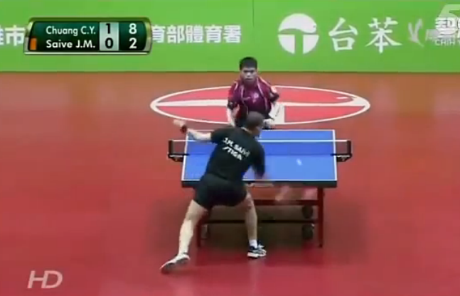 funniest table tennis match