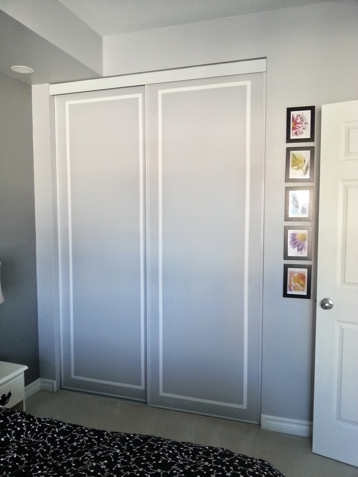 The Doors Now Blend Really Nicely With The Wall And Donu0027t Seem So Huge. The  Pattern Is Simple And Very Classy Looking. It Really Draws Your Eyes Up And  ...