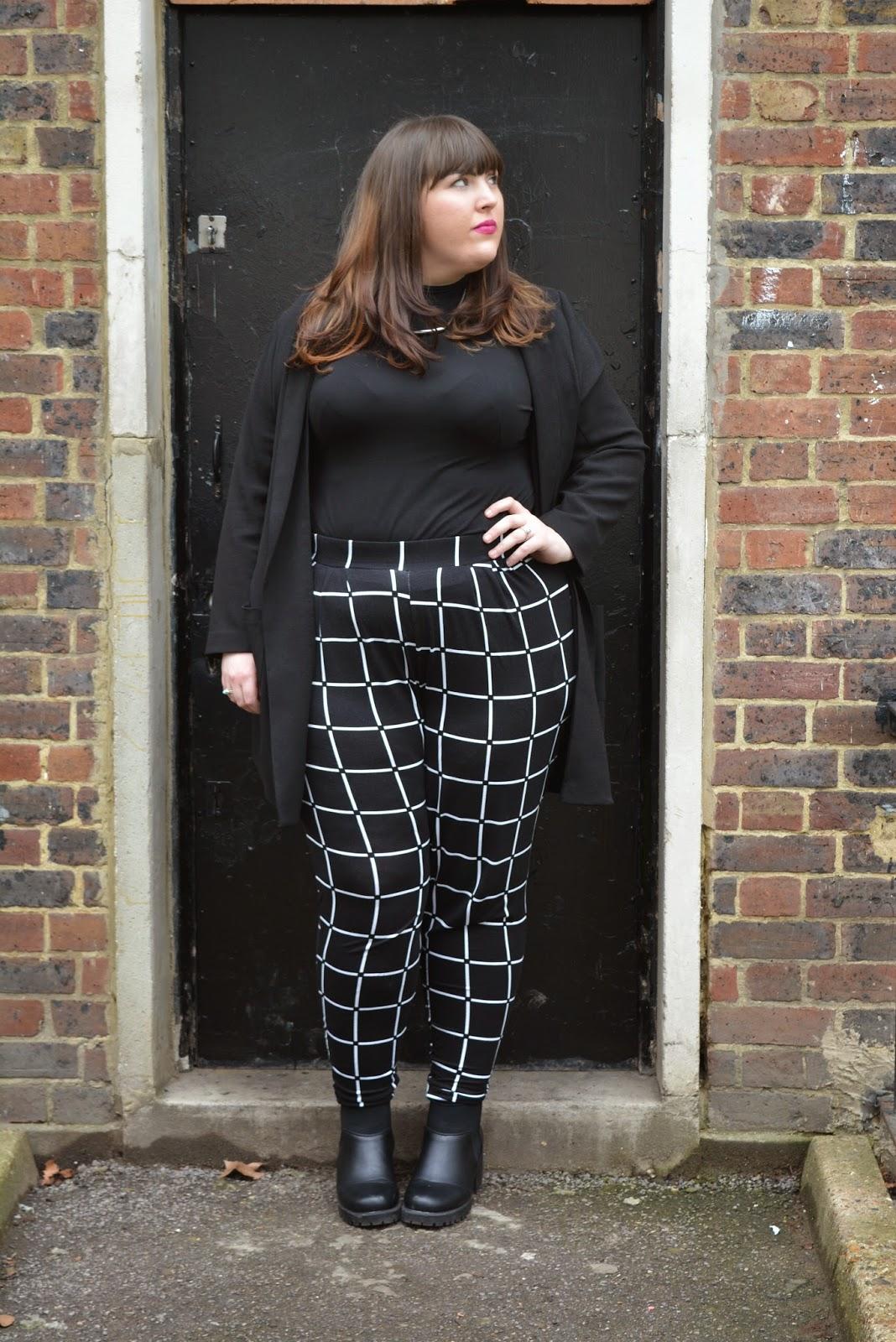 Asos Curve Check print trouser