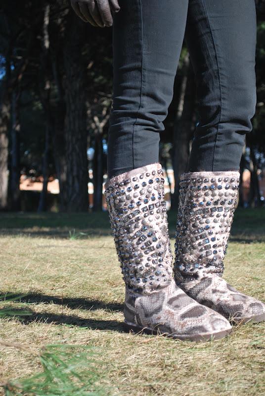 Unas botas muy cómodas