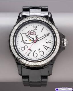 jam tangan hello kitty sanrio original