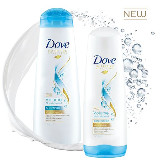 dove volume and nourishment, shampu untuk volume rambut, rambut sihat, rambut cantik, cara rambut lebat