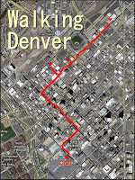 Walking Denver during GABF