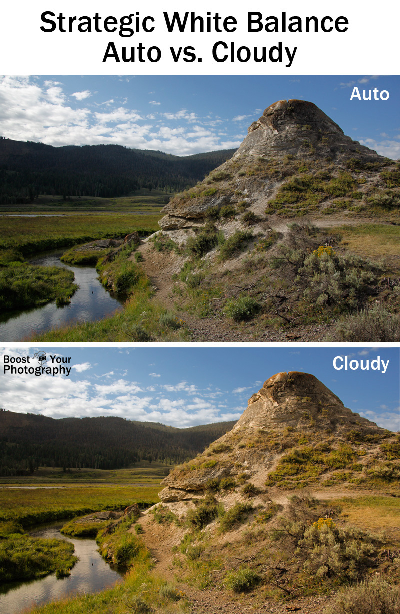Strategic White Balance: auto vs. cloudy | Boost Your Photography