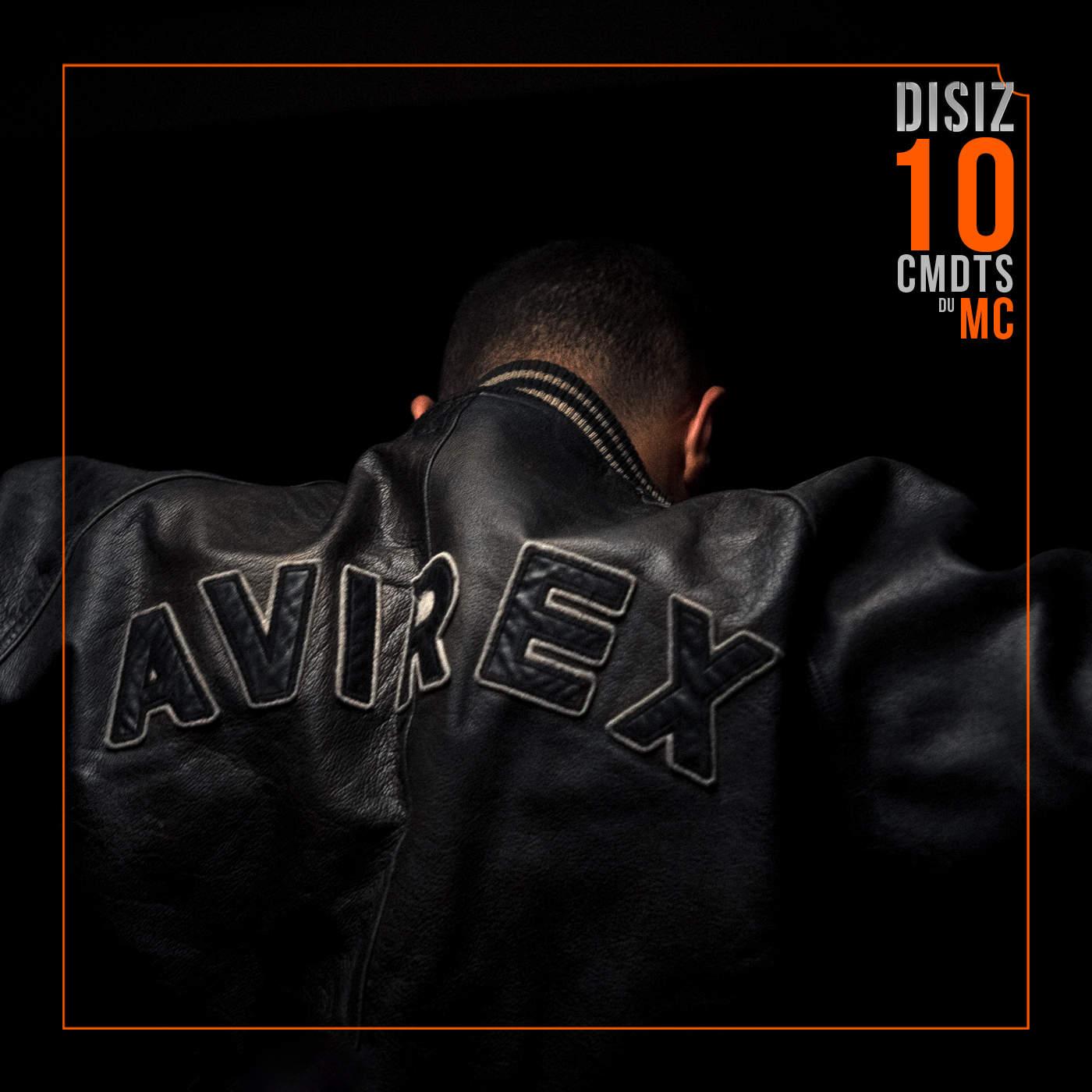 Disiz - Les 10 Commandements du MC - Single Cover