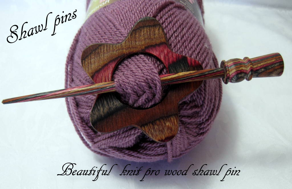 Shawl pins in my Etsy store