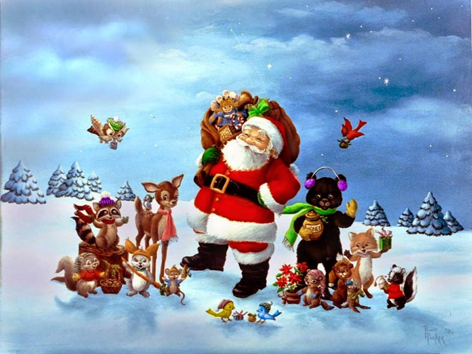 christmas background}]3d christmas 2014 trees wallpapers free