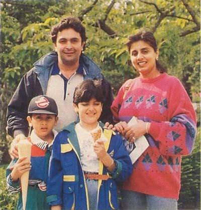 Ranbeer Kapoor Childhood Pictures