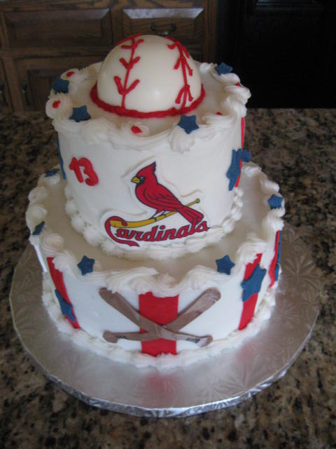 Keystone Confections Cardinal Baseball Birthday
