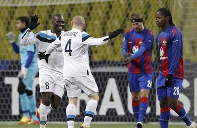 CSKA Moscow 0 - 2 Lille (1)
