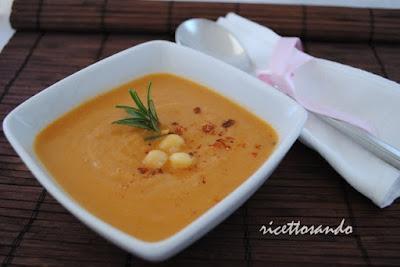 crema di ceci ricetta per una minestra golosa e nutriente