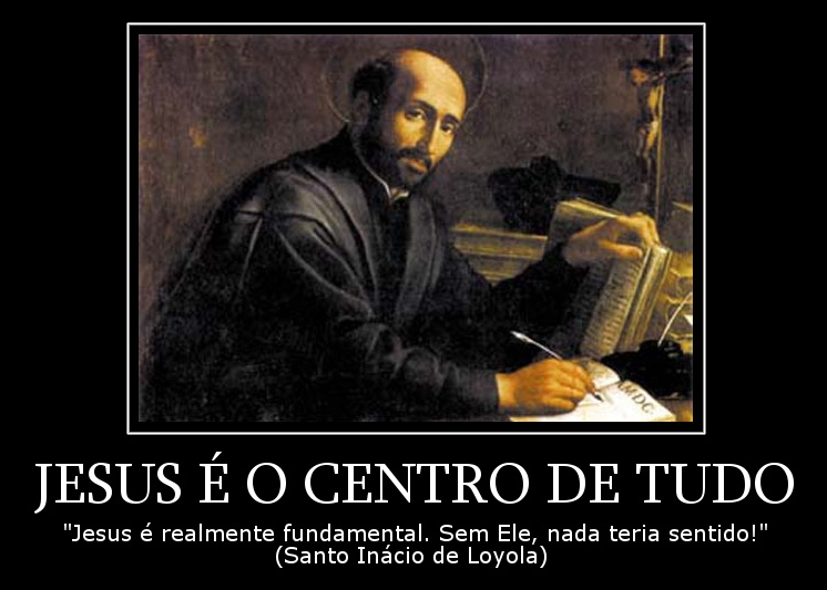 Jesus é O Centro De Tudo Frases Dos Santos