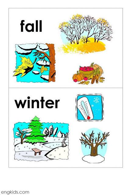 Four seasons spring summer fall winter