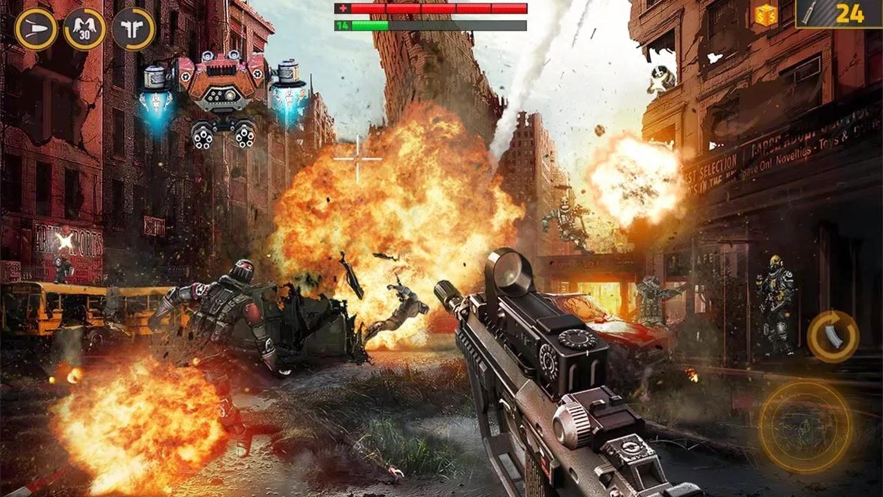 Overkill 2 لعبة القتال للاندرويد اوفر كيل ثلاثية الابعاد