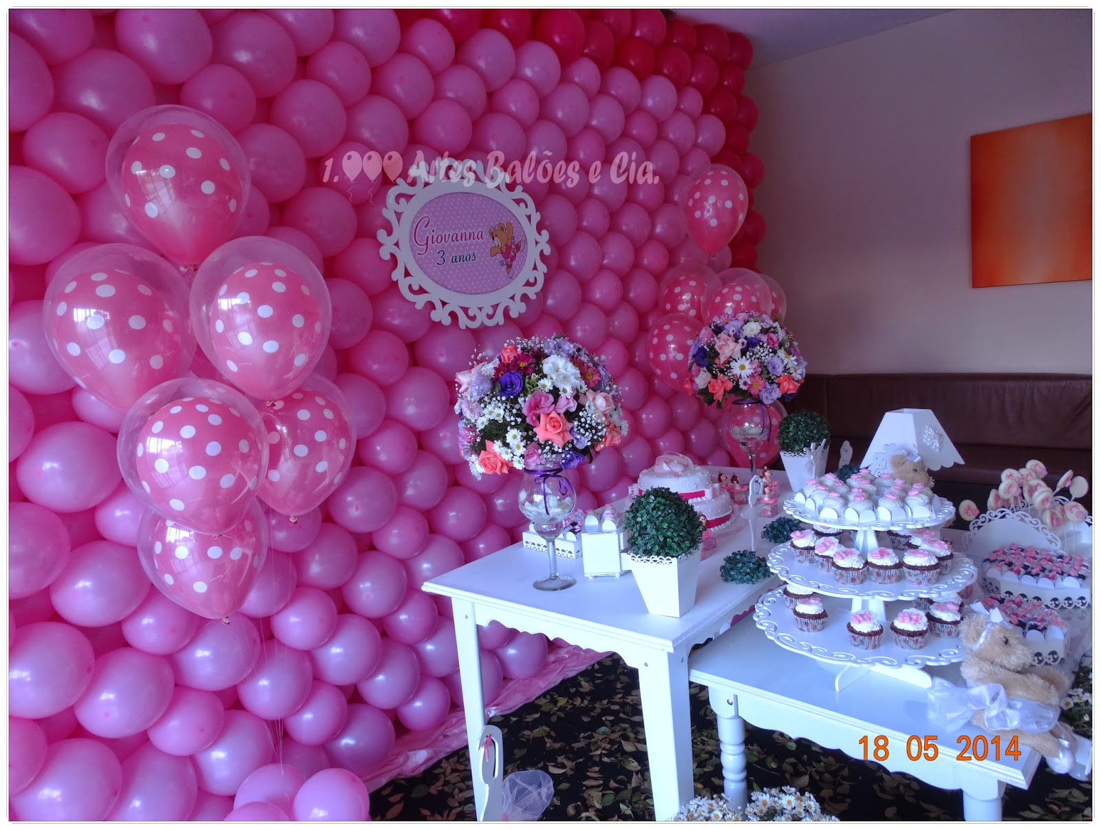 +balões+de+rosa+de+bolinha+branca+da+mil+artes+balões+e+cia+(4)JPG