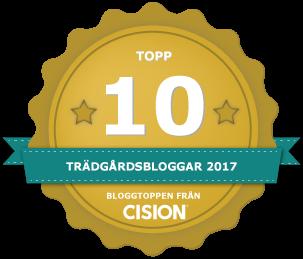 Cision har rankat årets trädgårdsbloggar 2017.