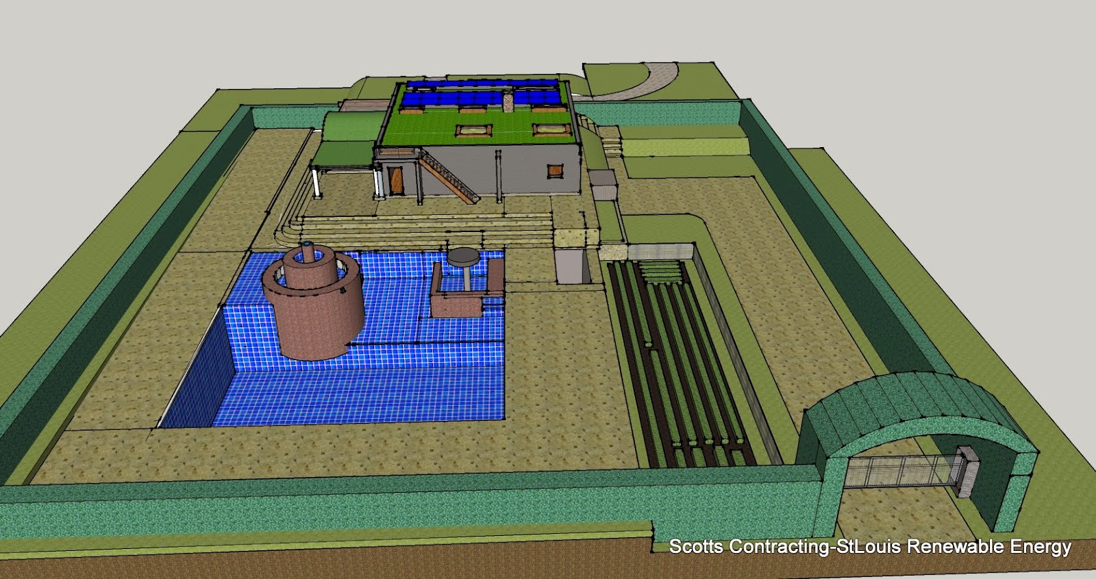 Natural Swimming Pool design by scotty
