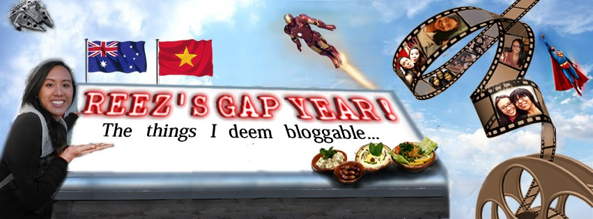 Reez's Gap Year: The Things I Deem Bloggable