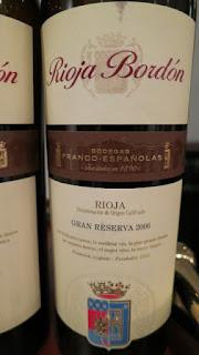 Rioja Bordón Gran Reserva 2006 - DOCa Rioja, Spain (91 pts)
