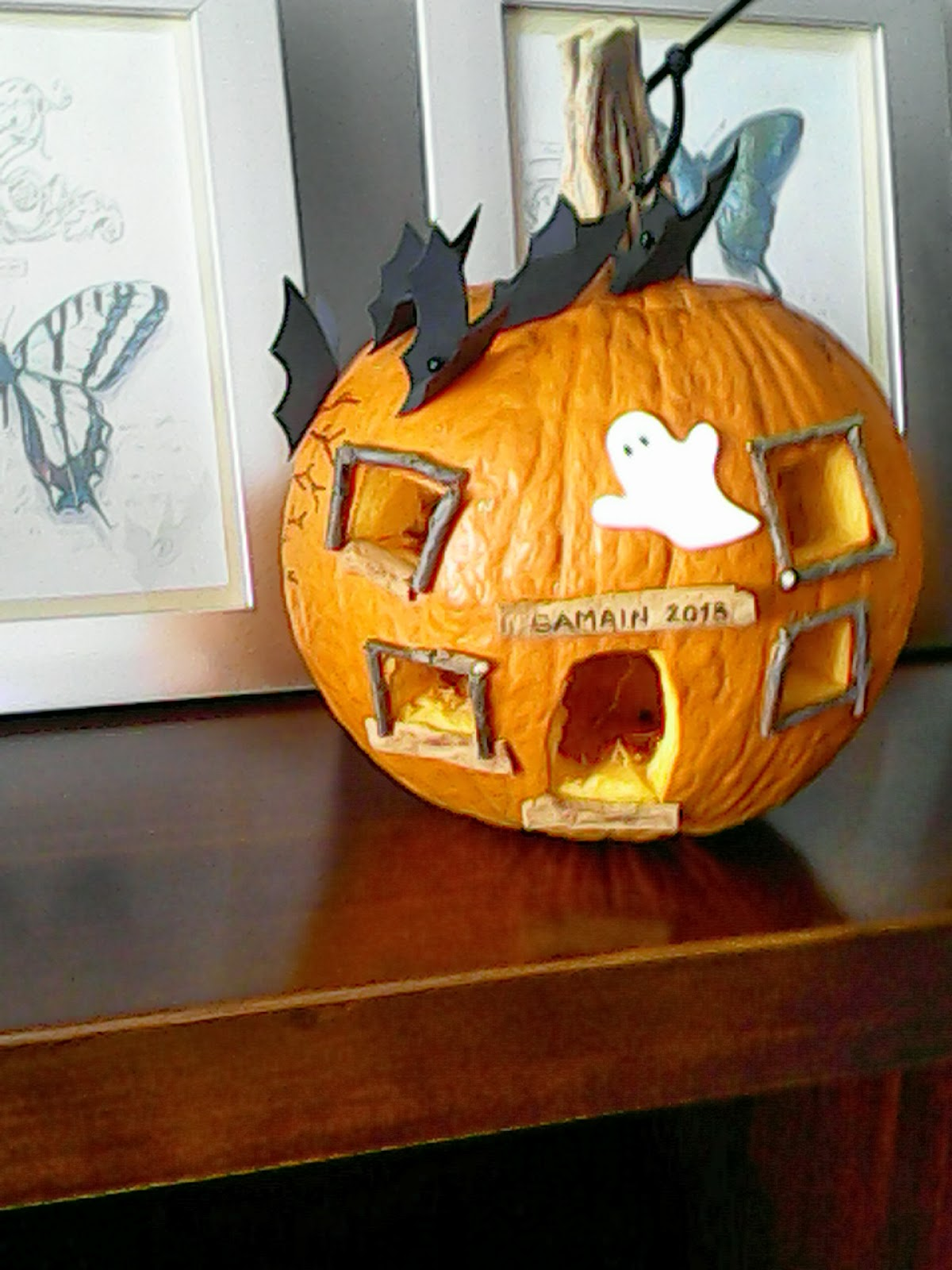 Calabazas decoradas de halloween cosas de mam s y peques - Calabazas de halloween de miedo ...