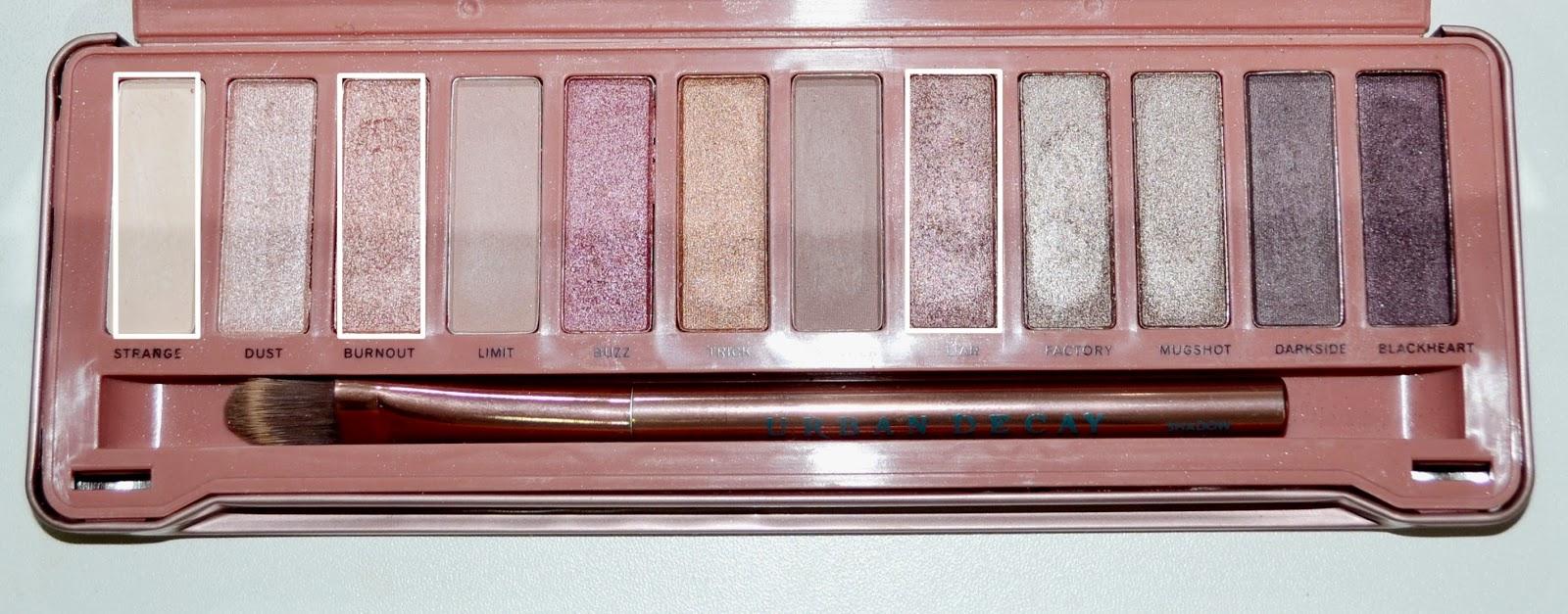 Maquiagem com paleta Naked 3