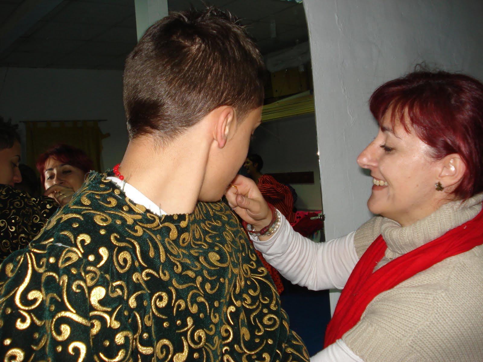 prueba de vestuario