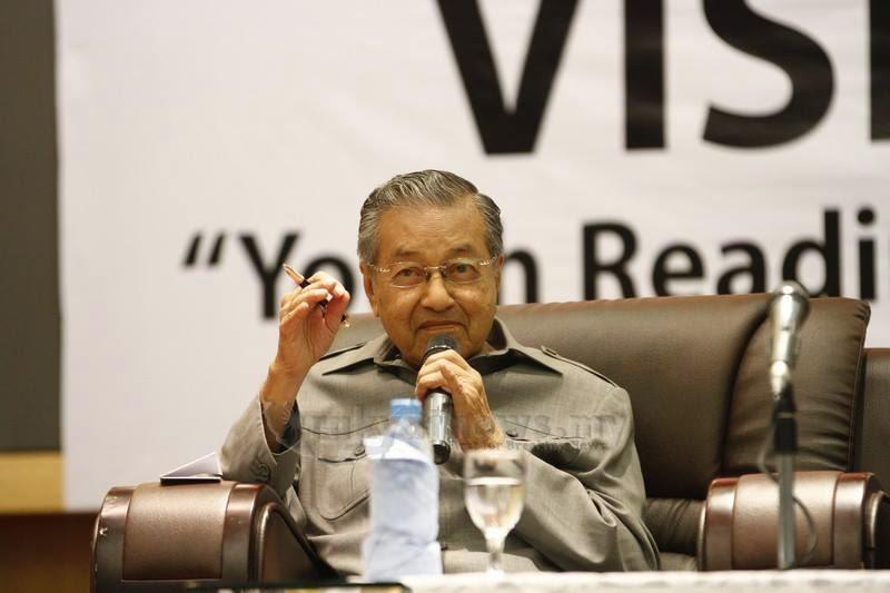 Tun M Kritikan Tuduhan Jauh Bezanya Kata SSK