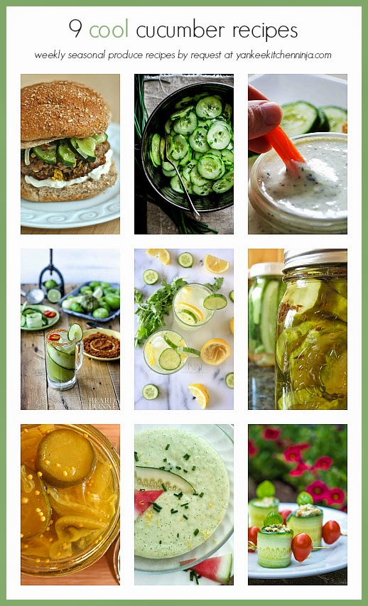 get 9 cool cucumber recipes for this popular summer produce