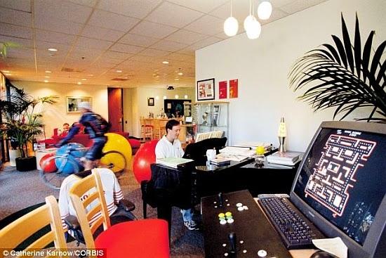 Mengapa Kantor Google Diciptakan Nyaman Dan Cozy Ini Alasannya