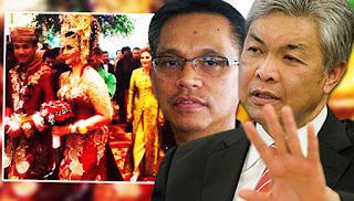 Shahbudin padam entri anak Zahid kahwin