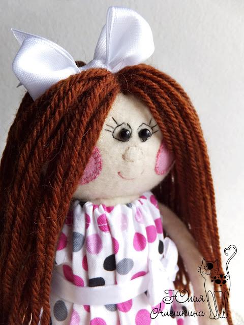 Новая кукла-длинноножка - портрет