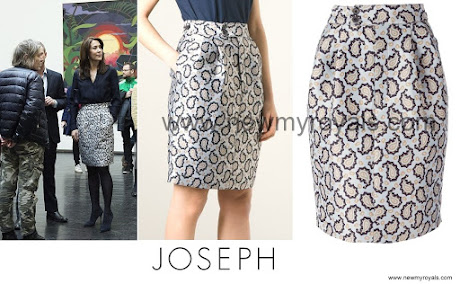 Crown princess Mary Style JOSEPH Dean Skirt