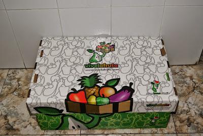 caja vive la fruta