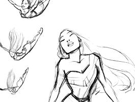 How To Draw Pocahontas Step 6