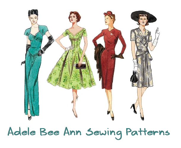 Adele Bee Ann on Vintage Fashion, Retro Sewing and Etsy