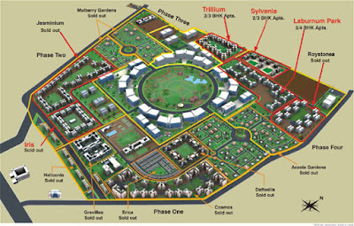 Master Plan Of Magarpatta City